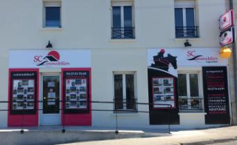 Nouvelle façade pour SC immobilier équestre